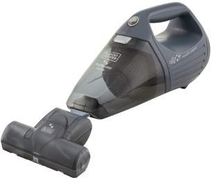 Aspirador de Pó Portátil Black Decker APS1200PET 1200W 127V 800ml Cinza Função Sopro e Bocal Turbo Pet