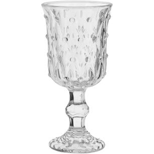 Taça Água 6 peças Vidro Transparente 200Ml 16X8X8Cm