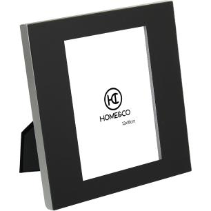 Porta-Retratos Alumínio Preto 13X18 Home&Co Nilo 21X19X2Cm