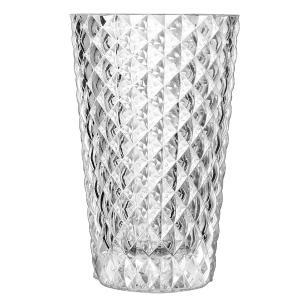 Vaso Cristal Transparente Mythe 27X17X17Cm