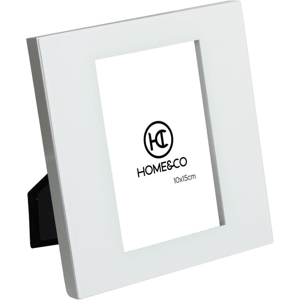 Porta-Retratos Alumínio Prata 10X15 Home&Co Nilo 19X17X2Cm