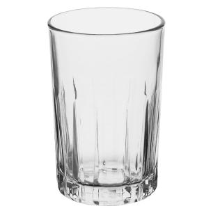 Jogo Jarra/Copos 7 peças Vidro Transparente 1,7L/340Ml Crisa Kristalino