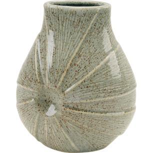 Vaso Cerâmica Marfim Home&Co Prune 24X19X11Cm