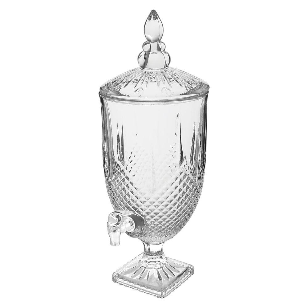 Refresqueira Ecologico Cristal Transparente 4,5L Diamond 51X20X20Cm