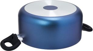 Caçarola com Tampa Brinox 7061/359 Mint 22cm 3,7L Cobalto Antiaderente Alumínio