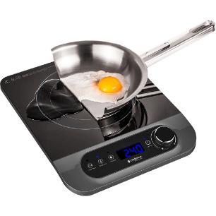 Cooktop por Indução Cadence Perfect Cuisine FOG601 1250W 127V Preto 1 Boca e Timer