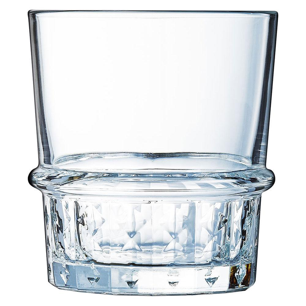 Copo Uísque Vidro Temperado 380Ml Luminarc Cocktail 10X9X9Cm 6 Peças