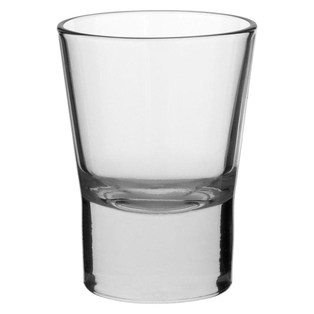 Copo Tequila 6 peças Vidro Transparente 150Ml Libbey Altaria 9X7X7Cm
