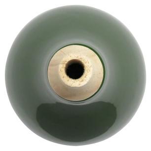 Garrafa Decorativa Cerâmica Verde Foglio 28X13X13Cm