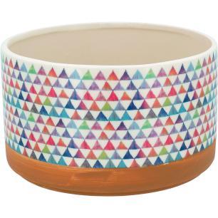 Cachepô Color Cerâmica Guido 12X20X20Cm