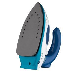 Ferro de Passar a Vapor Cadence Power Compact IRO050 Bivolt Azul e Branco para Viagem Antiaderente