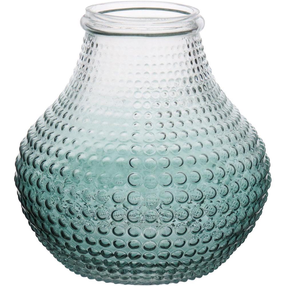 Vaso Vidro Verde Origan 19X18X18Cm