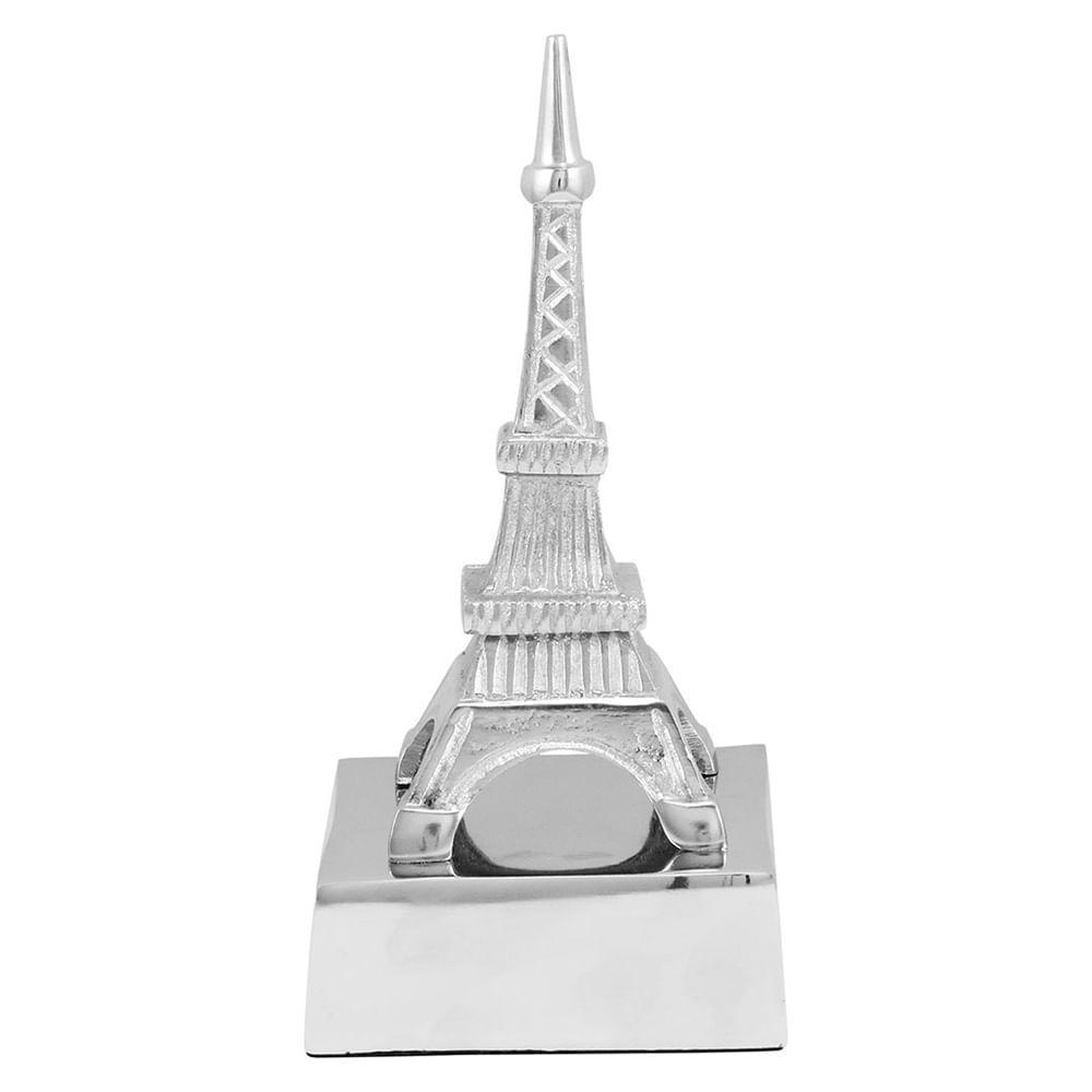 Torre Eiffel Alumínio Prata Home&Co Tourism 21X10X10Cm
