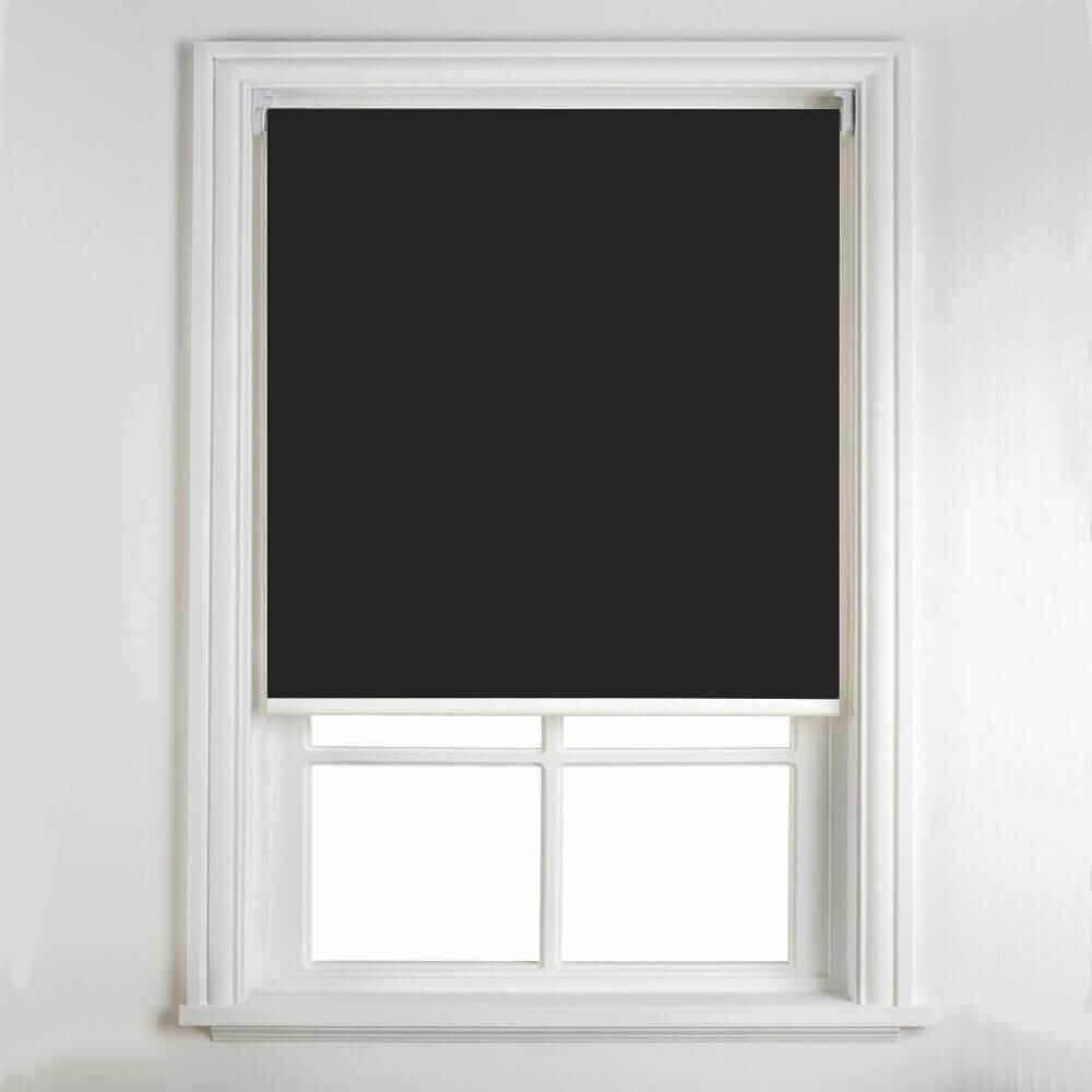 Persiana Rolô Blackout 1,60 x 1,60 - Preta