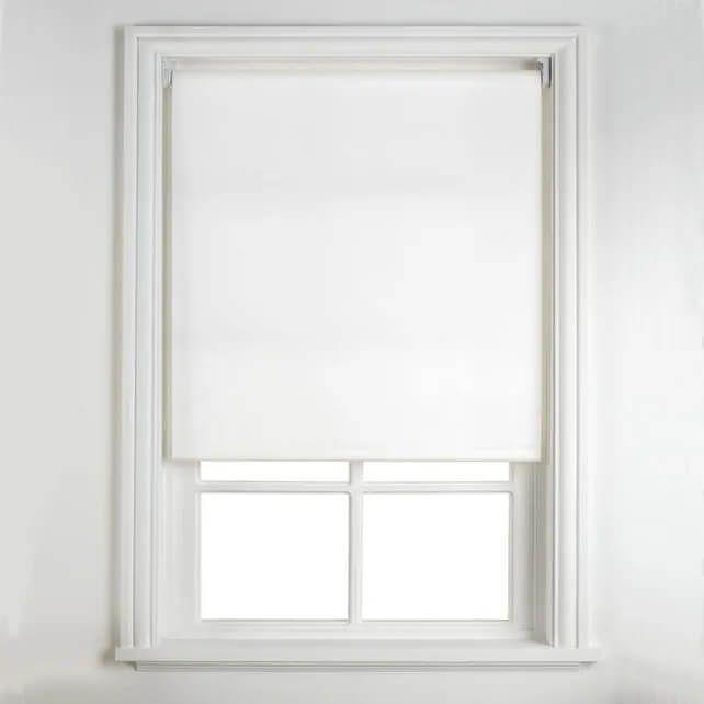 Persiana Rolô Blackout 1,20 x 1,50 - Branca