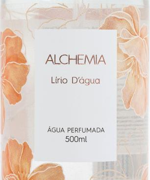 Água Perfumada Lírio D'água Alchemia