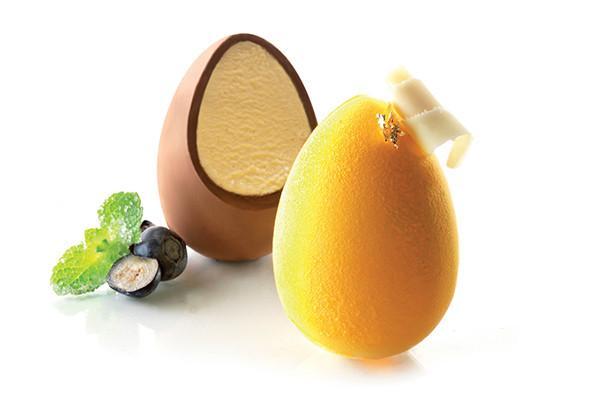 Molde para Ovo de Chocolate de Silicone