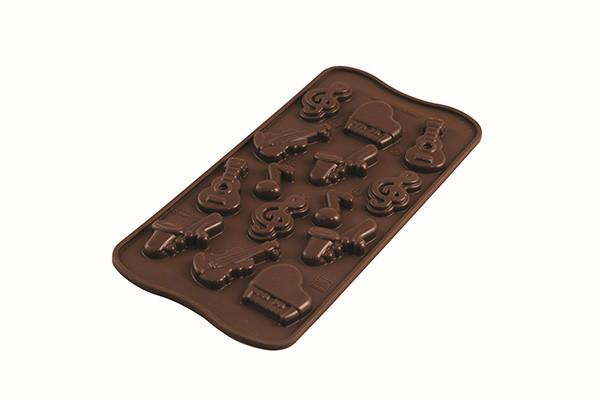 SILICONE MOULD CHOCO MELODY