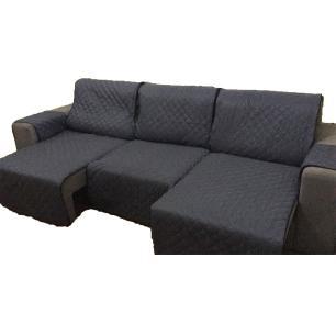 Protetor Para Sofá De 3 Módulos Microfibra Matelado Retrátil Reclinável Com Assento De 2,90M