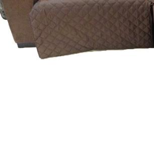 Protetor Para Sofá De 2 Módulos Microfibra Matelado Retrátil Reclinável Com Assento De 2,10M - Tabaco