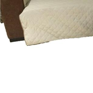 Protetor Para Sofá De 2 Módulos Microfibra Matelado Retrátil Reclinável Com Assento De 2,40M - Cáqui