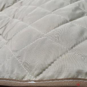 Protetor De Sofá Microfibra Matelado Para Poltrona Com Assento De 50CM - Cáqui