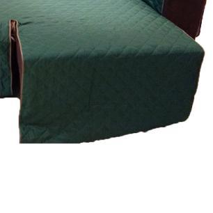 Protetor Para Sofá De 2 Módulos Microfibra Matelado Retrátil Reclinável Com Assento De 1,90M - Verde Musgo