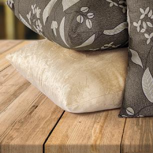 Kit 04 Almofadas Decorativas Com Capa 40cm X 40cm Tecido Suede - Tabaco