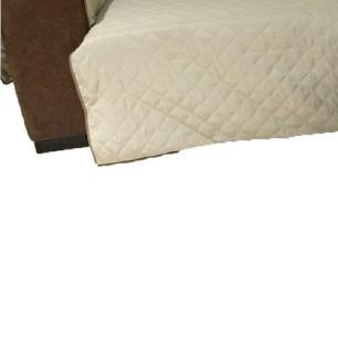 Protetor Para Sofá De 2 Módulos Microfibra Matelado Retrátil Reclinável Com Assento De 2,10M - Cáqui