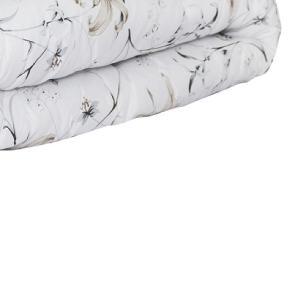 Edredom Casal Queen Dupla Face Classic Estampado Tecido 160 fios - Floral Atenas