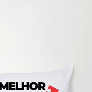 Travesseiro De Corpo Aconchego 1,30m X 38cm Com Fronha Microfibra Estampado - Melhor Parte de mim