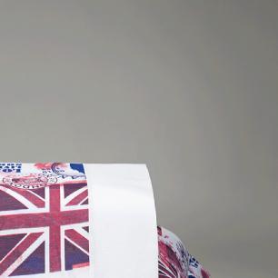 Jogo De Cama Solteiro Tecido Misto Kit 03 Peças London - Branco
