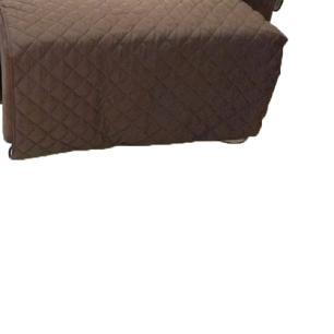 Protetor Para Sofá De 2 Módulos Microfibra Matelado Retrátil Reclinável Com Assento De 2,20M - Tabaco