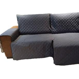 Protetor Para Sofá De 3 Módulos Microfibra Matelado Retrátil Reclinável Com Assento De 2,60M