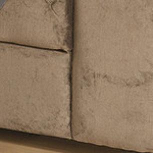 Protetor Para Sofá De 02 Lugares Com Assento de 1,10M Microfibra Dupla Face Manu - Cinza Com Preto