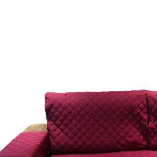 Protetor Para Sofá De 2 Módulos Microfibra Matelado Retrátil Reclinável Com Assento De 1,90M - Vinho