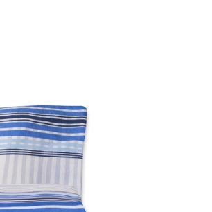 Jogo de Cama Casal Padrão Estampado Percal 140 fios 03 peças Premium - Xadrez Azul