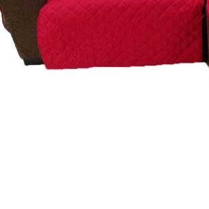Protetor Para Sofá De 2 Módulos Microfibra Matelado Retrátil Reclinável Com Assento De 2,10M - Vermelho