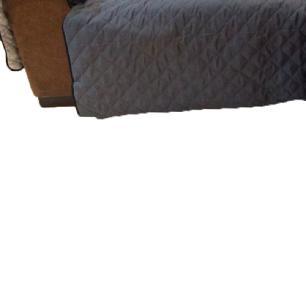 Protetor Para Sofá De 2 Módulos Microfibra Matelado Retrátil Reclinável com Assento De 2,50M - Chumbo
