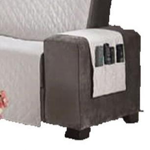Protetor Para Sofá De 03 Lugares Com Assento De 1,40M Microfibra Matelado - Palha