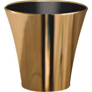 Champanheira Classic Dourada Metalizada Poliestireno P/ 1 Garrafa (4,5 Litros)