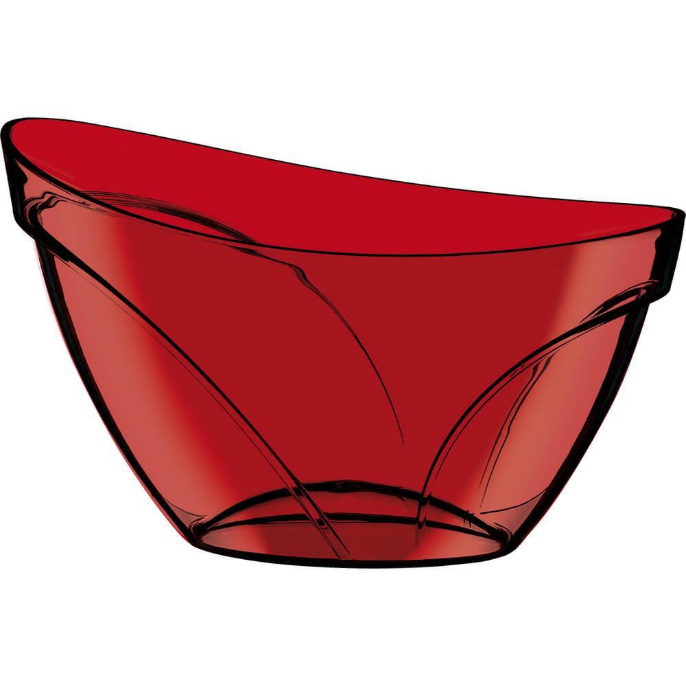 Champanheira Suprema Poliestireno Vermelha Translúcida 12 Litros