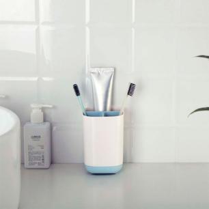 Conjunto Itens para Banheiro na Cor Azul