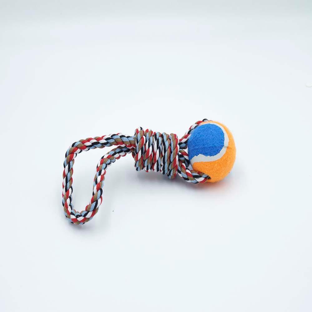 Brinquedo Para Cães Corda com Bola