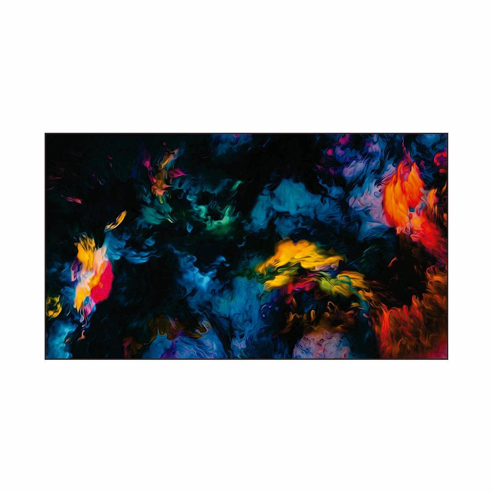 Quadro Decorativo Impressão em Vidro Roncalli Abstrato