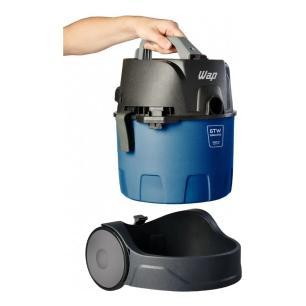 Aspirador de Pó e Água GTW Bagless Wap, 1400W, 6L, Azul/Preto - 220V