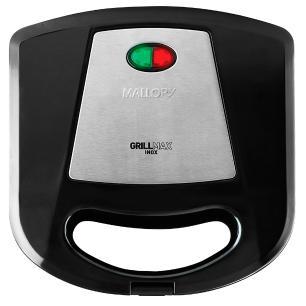 Sanduicheira Mallory Grill Max, Inox - 110V