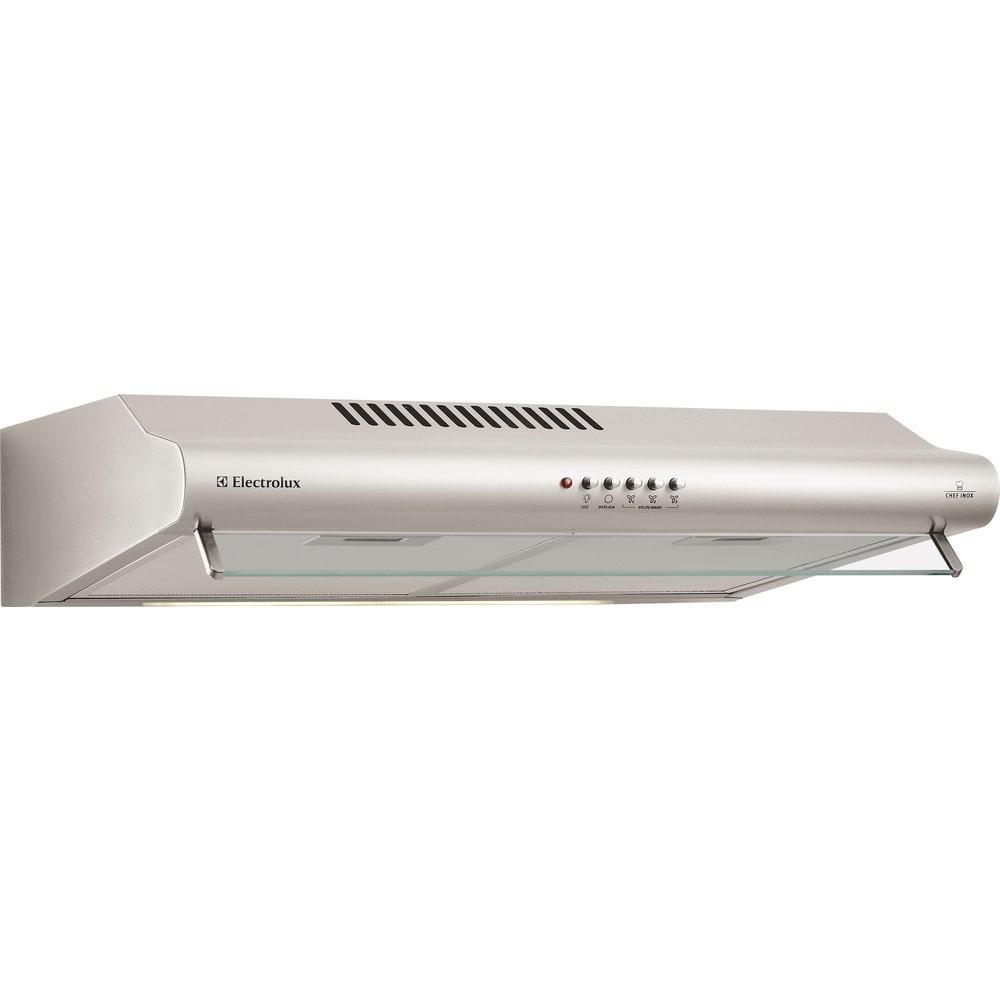 Depurador de Ar Electrolux DE60X 60cm, 3 Velocidades, Inox - 110V