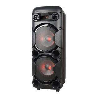 Caixa de Som Multilaser Mini Torre SP380, 900W RMS, Bluetooth, P10, USB, AUX, LED