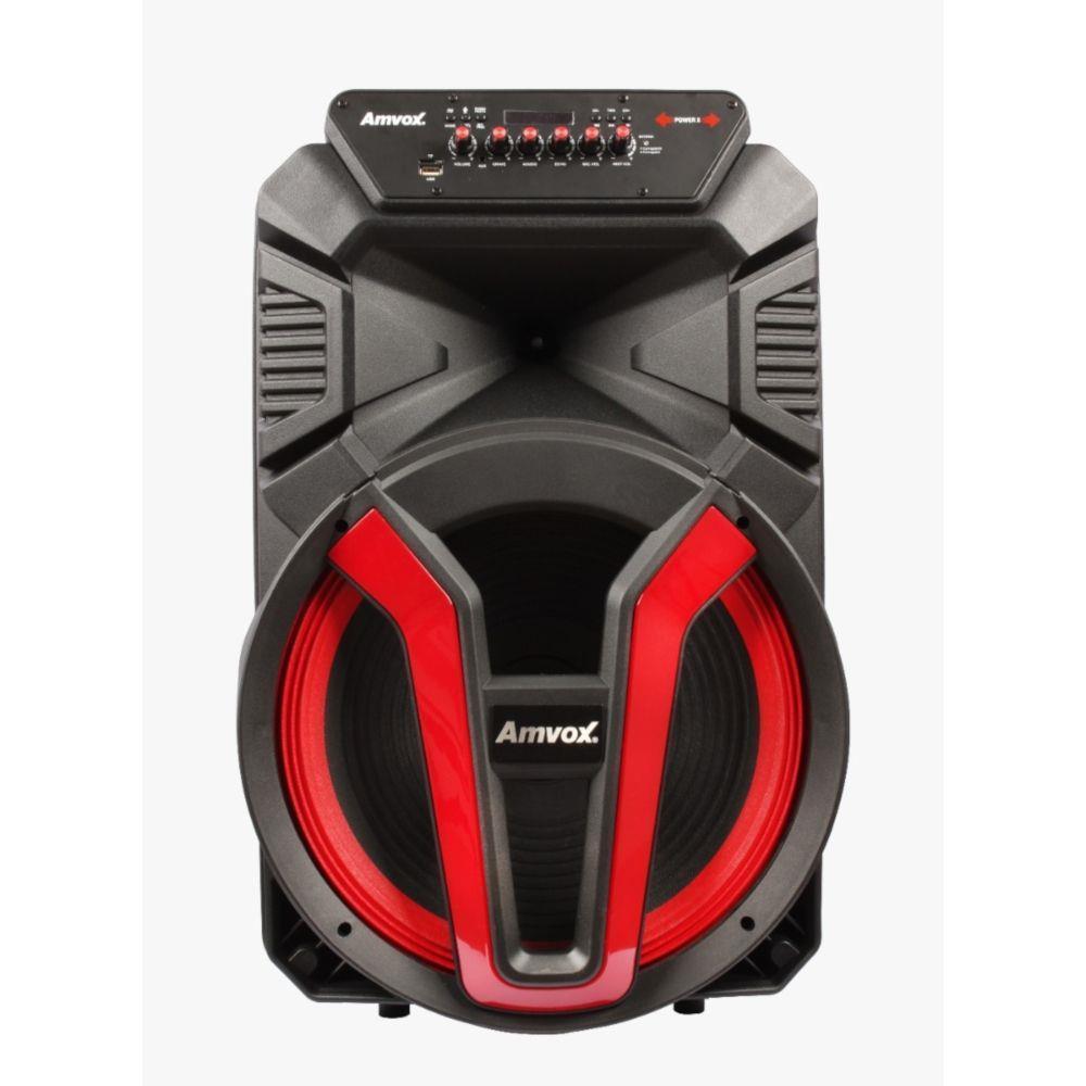 Caixa Amplificadora Amvox ACA 780 Vulcano, 700W, Bluetooth, LED, Rádio FM